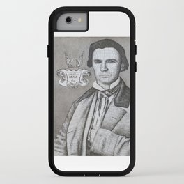 Portrait of John Neely Bryan, Founder of Dallas, Texas iPhone Case