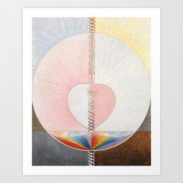Hilma af Klint, Group IX/UW No. 25 Art Print
