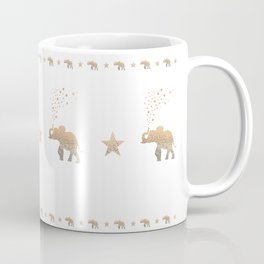 GOLD ELEPHANT Coffee Mug