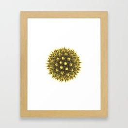 Pollen allergy Framed Art Print
