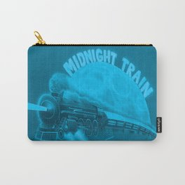 Blue Midnight train Carry-All Pouch
