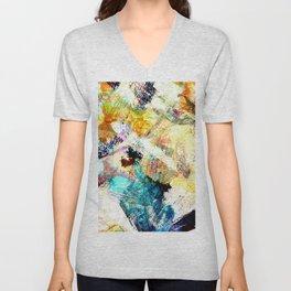 Painterly Unisex V-Neck