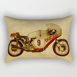 701 number 9 Rectangular Pillow