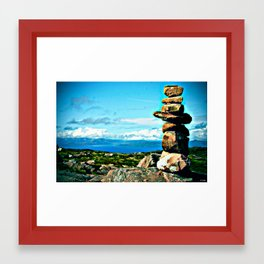 Rocks to Heaven Framed Art Print