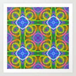 kitchen tile Art Print