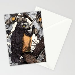Spectacled Owl Stationery Cards