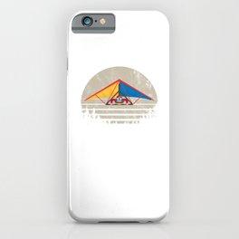 Man Hang Gliding Deltaplane Hang Glider Gift iPhone Case