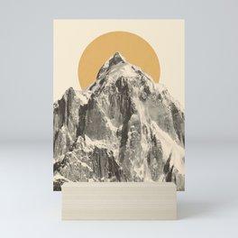 Mountainscape 5 Mini Art Print