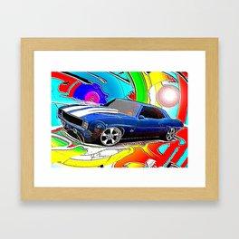 Camaro Framed Art Print