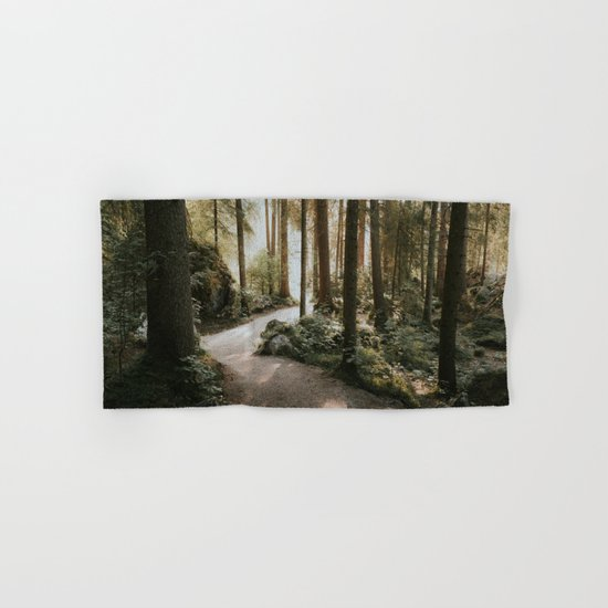 Lost in the Forest - Landscape Photography Hand & Bath Towel
