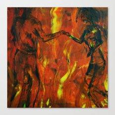 Dance Machine Canvas Print