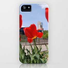 Guthrie Tulips iPhone Case