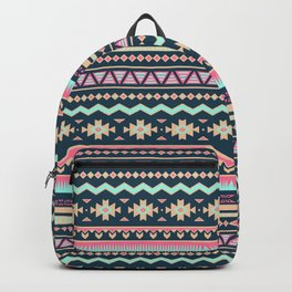 Colorful Aztec Tribal Pattern Backpack