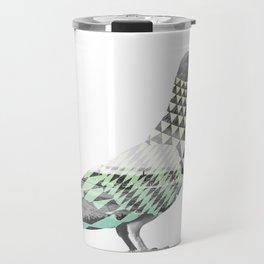 Tessellated Pigeon Travel Mug