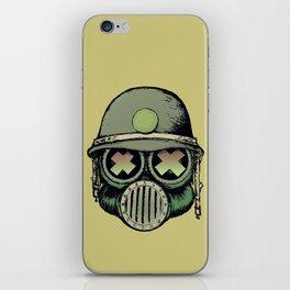 War Skull iPhone Skin