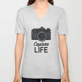 Capture Life Unisex V-Neck