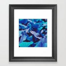 Exotic Leaves Framed Art Print