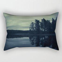 Lake by Night Rectangular Pillow