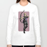 clint barton Long Sleeve T-shirts featuring Clint by Shop 5