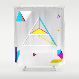 A project Shower Curtain