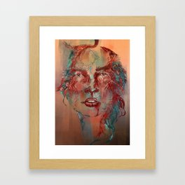 Posion Ivy Framed Art Print