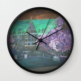Digital Bobinger Rathaus Wall Clock