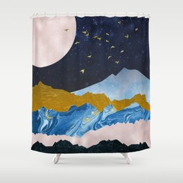 Golden View Aventure Shower Curtain