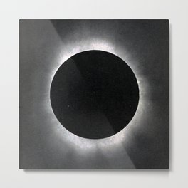 Black Eclipse Metal Print