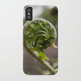 Christmas Fern iPhone Case