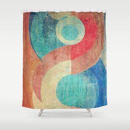Yin Yang and Something More Shower Curtain