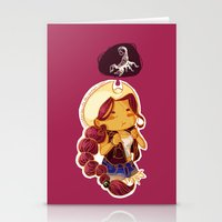 scorpio Stationery Cards featuring Scorpio by SinisterSquids