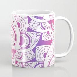 Colored Lotus Flower Rainbow Coffee Mug