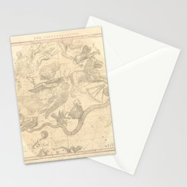 Burritt's Constellations (April, May, June) (1856) Stationery Cards
