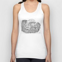 tortoise Tank Tops featuring Tortoise by Squidoodle