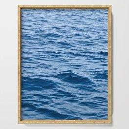 Greek Waves Serving Tray