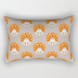 Whimsical Echidna Rectangular Pillow