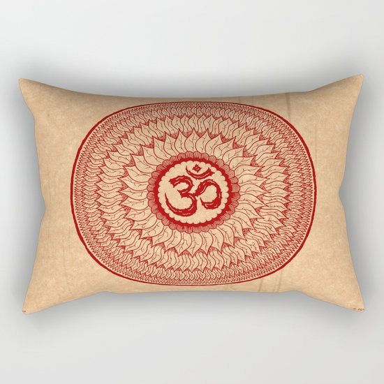 lialiom mandala Rectangular Pillow