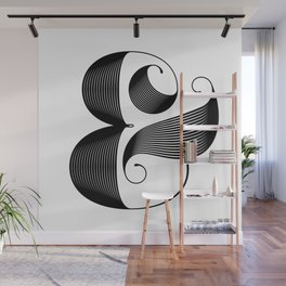 Ampersand Wall Mural