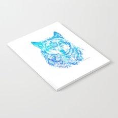Blue Wolf Notebook