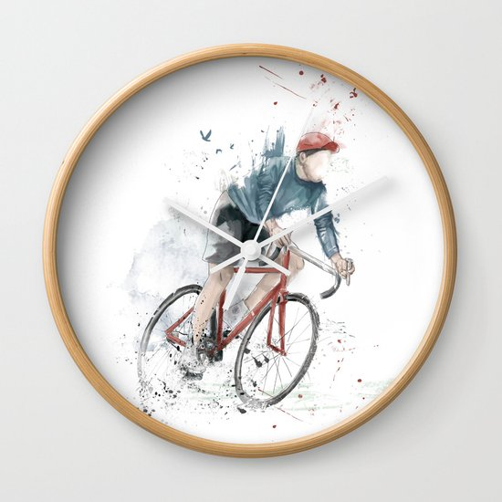 I want to ride my bicycle Wall Clock