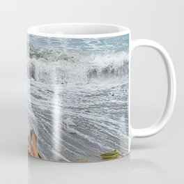 Sea and driftwood mix it up Coffee Mug
