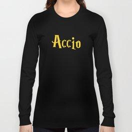 Accio Coffee! (Gold) Long Sleeve T-shirt
