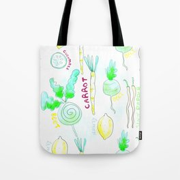JUICING Tote Bag