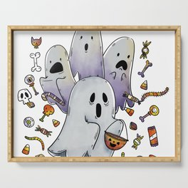 Hallo Ghosts Serving Tray