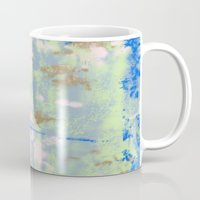 tie dye Mugs featuring Tie Dye by Wendy Ding: Illustration