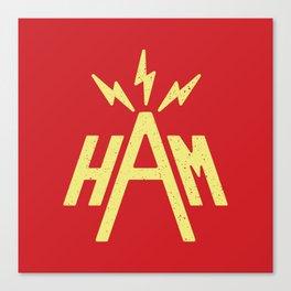 Ham Radio Canvas Print