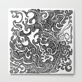 Pull Yourself Together Metal Print