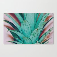 pinapple Canvas Prints featuring Pinapple by 83 Oranges™