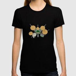 Green Drum Kit T-shirt