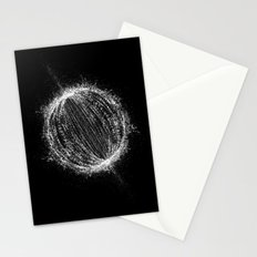 Planetary Explosion Stationery Cards